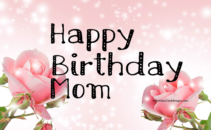 Happy Birthday to ... Mom