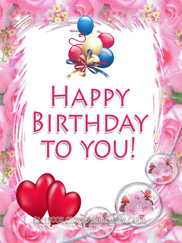 Happy Birthday to You! Just for You Birthday Card.
